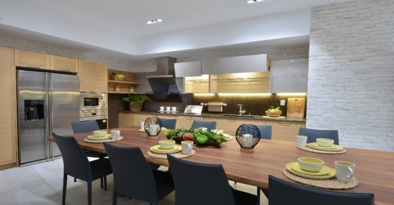 Bộ sưu tập bếp Đông Dương Modern 02